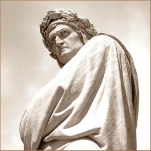 Dante the watcher of suffering