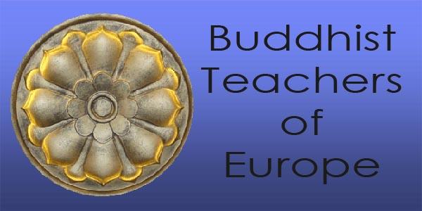 Five Cram Buddhist Teachers of Europe