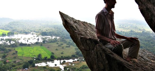 Meditation is always a cliff-edge